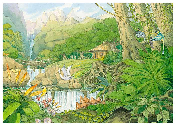 Illustration Dschungel