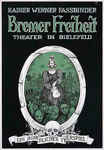 Illustration Bremer Freiheit: Theaterplakat