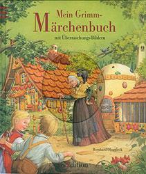 Illustration Bilderbuch: Mein Grimm Märchenbuch, Kinderbuchillustration Aquarell