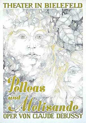 Illustration Pelleas: Theaterplakat